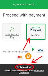 Verifikasi payza deposit ptc