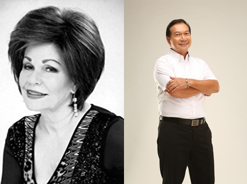 Pilita Corrales and Apo Hiking Society's Boboy Garovillo