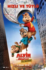 Alvin ve Sincaplar: Yol Macerası (2015) 1080p Film indir
