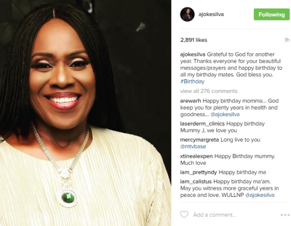 image result for Nigerian actress Joke Silva birthday and age