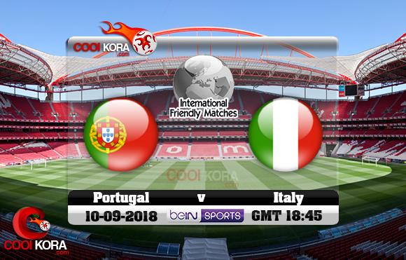 مشاهدة مباراة البرتغال وإيطاليا اليوم 10-9-2018 دوري الأمم الأوروبية