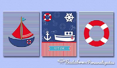 kit digital, arte digital, print, prints, poster, posterês, quadros, quadrinhos, marinha, marinheiro, naval, decoração, quarto infantil