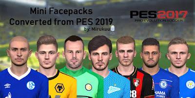 PES 2017 Facepack 14-04-2019 by Mirukuu