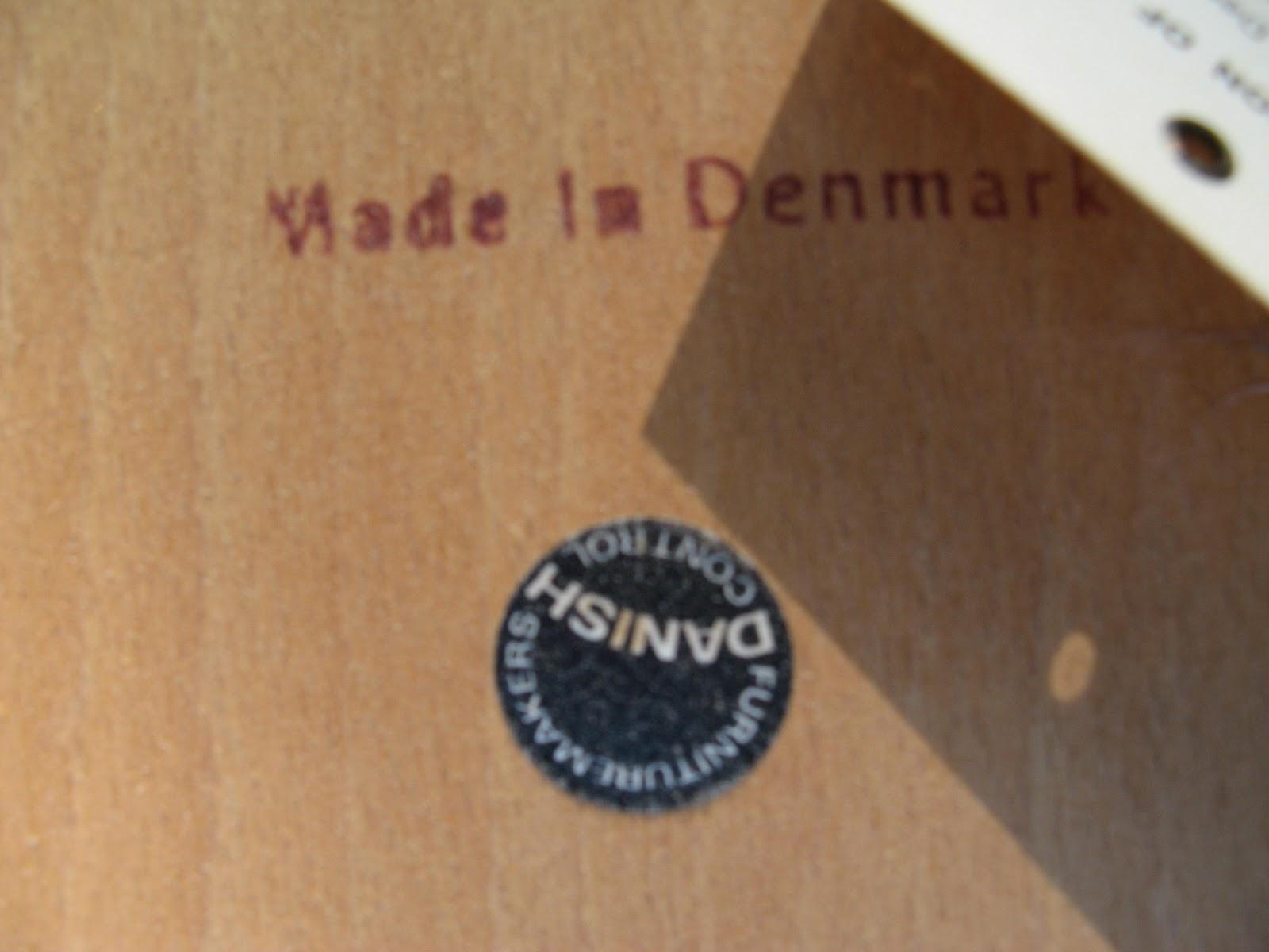MidCenturyModernMania@gmail.com: Set of 4 Danish Mid ...