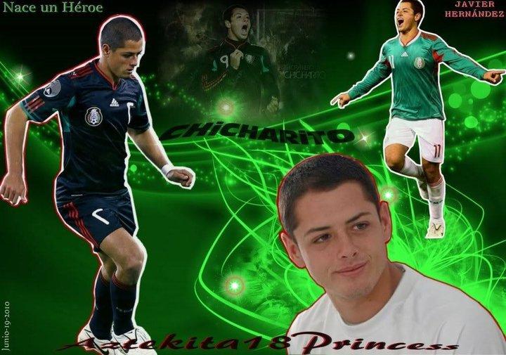 Soccer Legends Pics: Chicharito Mexico Pics