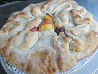 Rustic Peach Pie
