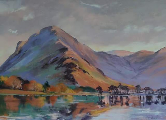 Day seventeen art advent Buttermere