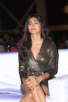 Pooja Hegde looks glamarous in deep neck sleevless short tight golden gown at Duvvada Jagannadham thank you meet function 097.JPG