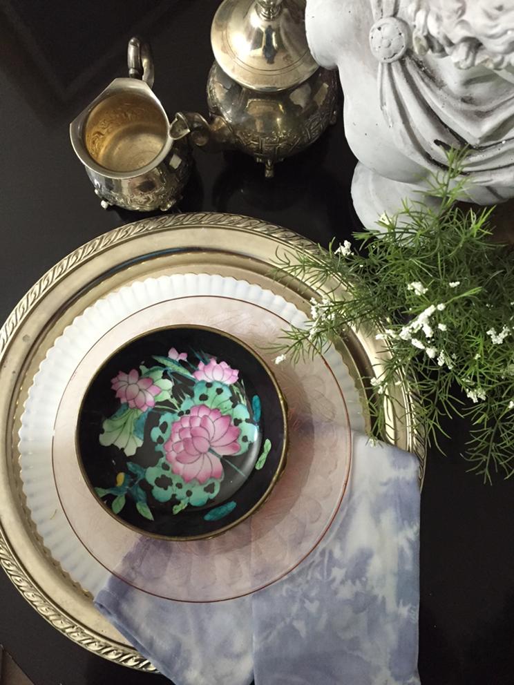 How to create shibori print napkins using rit dye