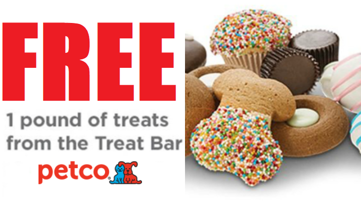 picture about Petco Printable Coupon $10 Off $50 identified as Totally free 1 Pound of Petco Address Bar Puppy Snacks At Petco