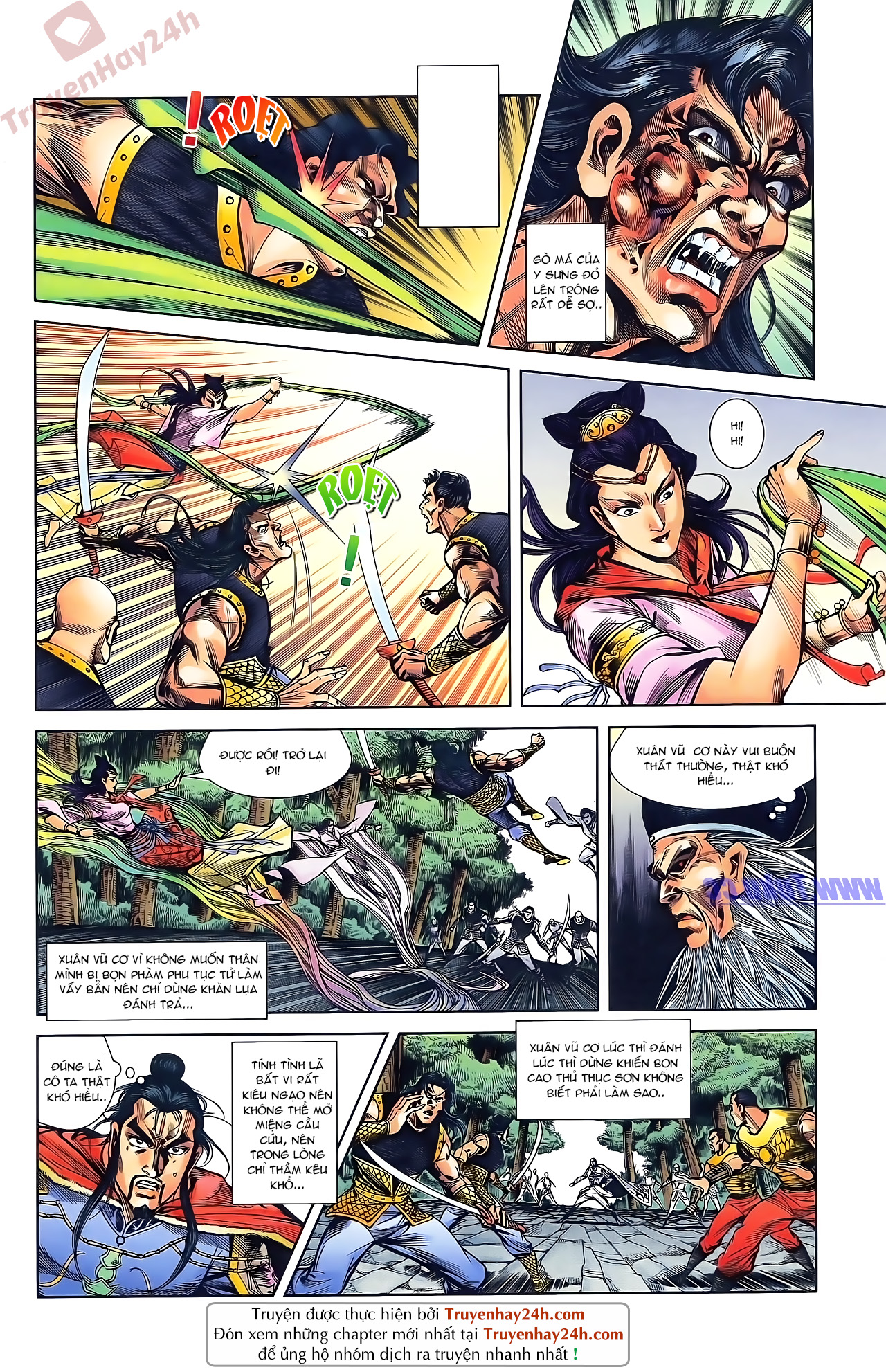Tần Vương Doanh Chính chapter 46 trang 8