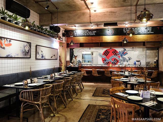 Suasana Restoran Hatchi Pondok Indah Jakarta