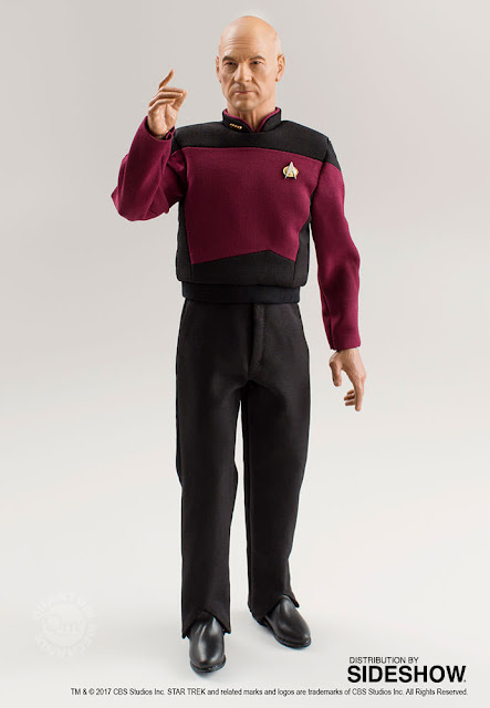 osw.zone Quantum Mechanix is ​​proud to present the first sixth scale Master Series articulated figure of.  Quantum Mechanix 1 / 6. Scale Star Trek: The Next Generation Captain Jean-Luc Picard Figure