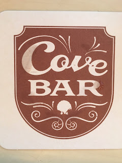A Coaster from the Cove Bar at Disney California Adventure
