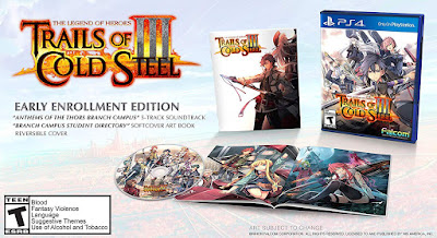 The Legend Of Heroes Trails Of Cold Steel 3 Game Cover Ps4 Early Enrollment Edition