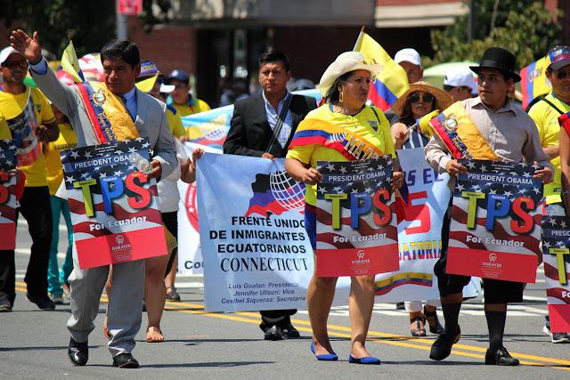 Frente unido de ecuatoriano  - TPS