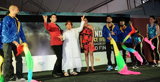 """Yesteryear Actress Helen inaugurates 4th edition of """"India Dance Week"""" hosted by Sandip Soparrkar"""