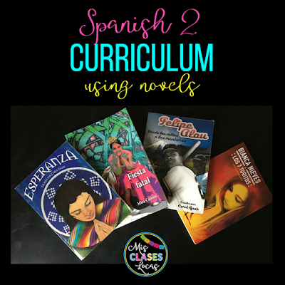 Mis Clases Locas Curriculum for Spanish 1-4