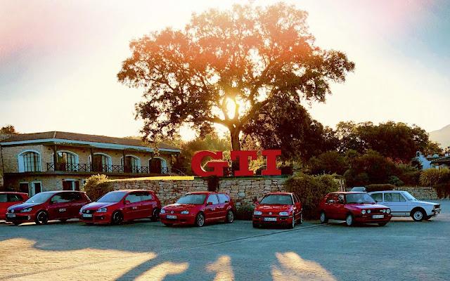 Volkswagen testa Golf, Polo e Up! GTI em Málaga - Espanha