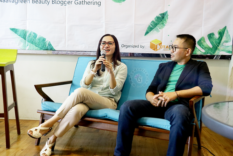 Naavagreen Beauty Blogger Gathering Surabaya