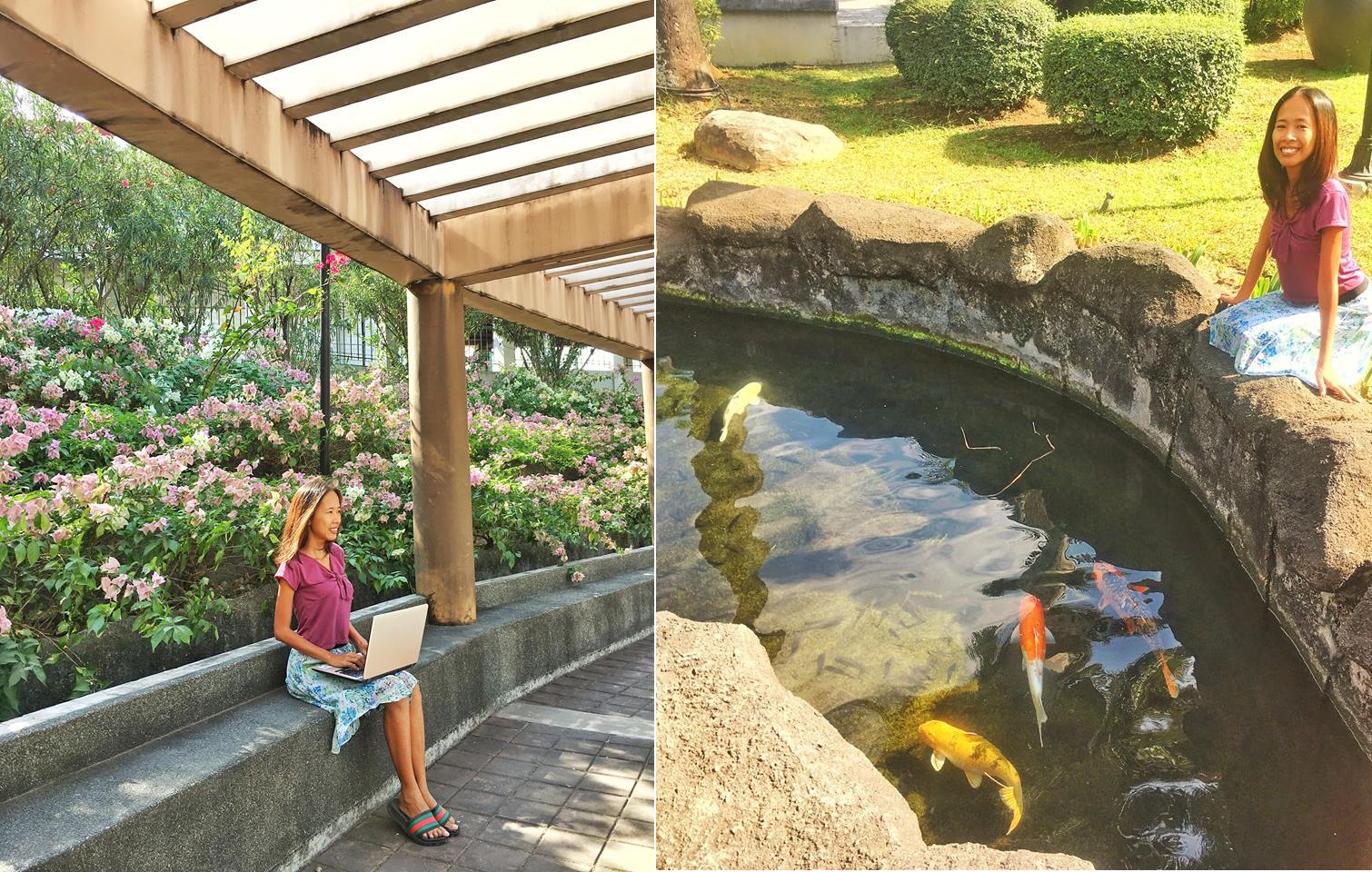 Guadalupe Nuevo Cloverleaf Park in Makati