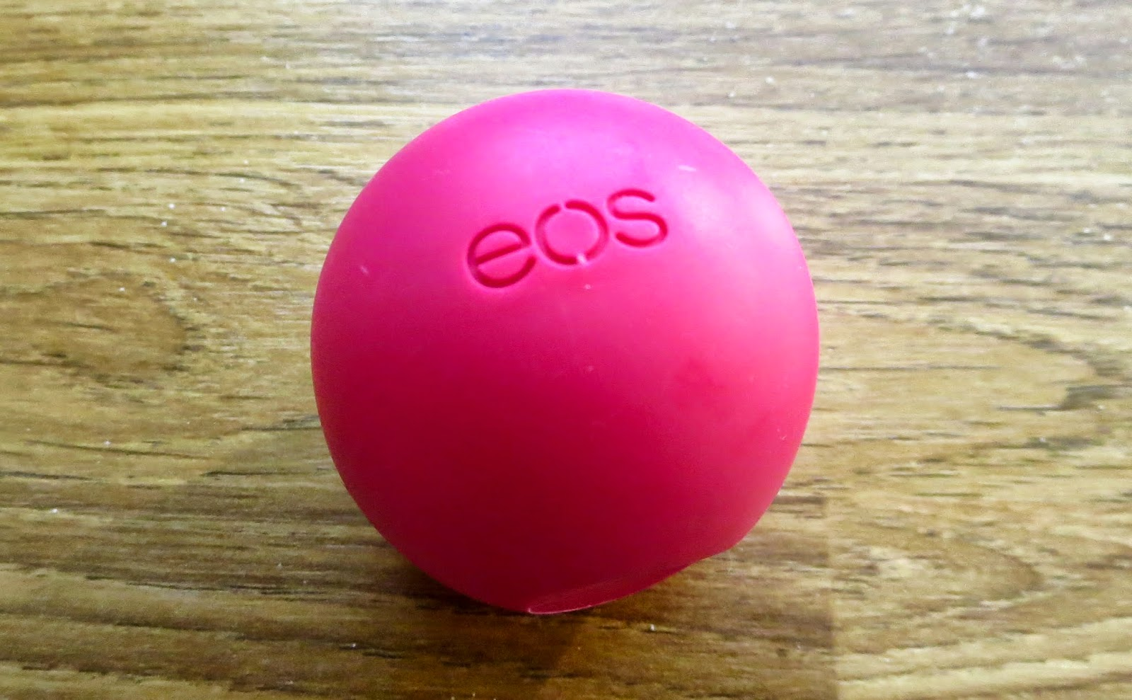 eos lip balm swatch