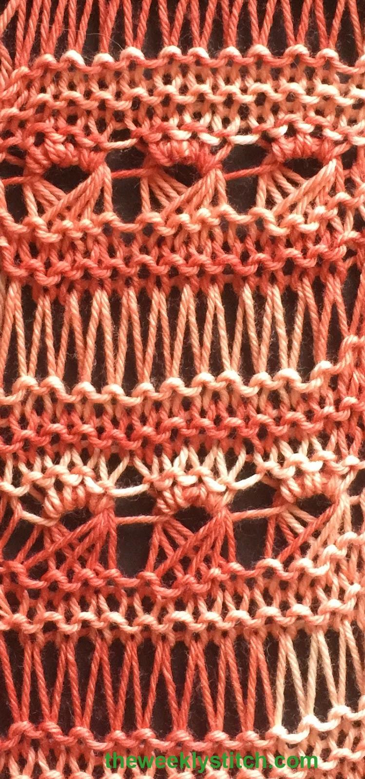 Peruvian Lace The Weekly Stitch
