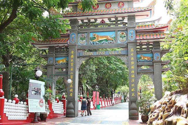 Haw Par Villa Tempat Wisata di Singapura : tempatwisata.biz.id