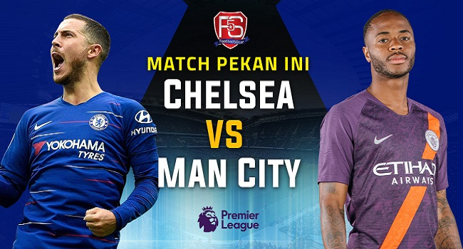 live streaming Chelsea vs Manchester City 9 Desember 2018