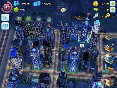 vista ciudad simcity buildit ipad
