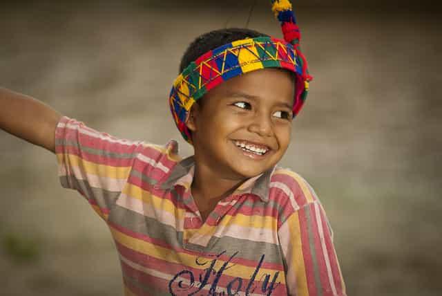 Hoy es día del niño indígena