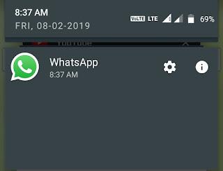helphindime.com, Whatsapp Tricks And Cheats, WhatsApp Notification Ko Block Kaise Kare