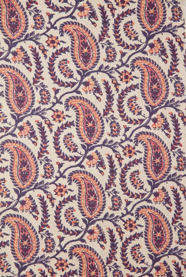 Schuyler Samperton Textiles, design: Cordoba spice