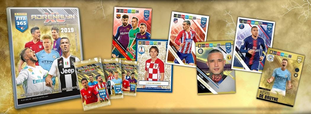 5abbdc24d63 Panini edita la colección Adrenalyn FIFA 365. Esta colección la comenzó a  editar en 2015 cuando perdió los derechos de la Champions League.