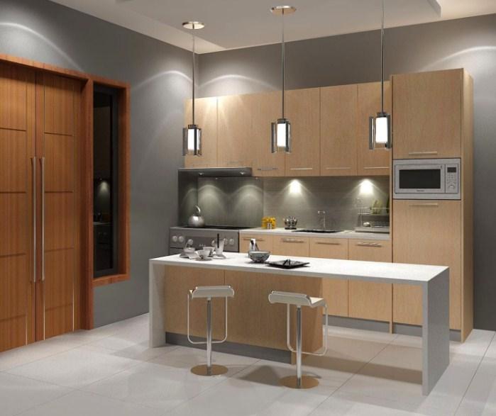 Manfaatkan Model Lampu Penerangan Yang Cantik Ini Akan Menambah Kesan Eksotis Untuk Ruangan Dapur Minimalis Mu
