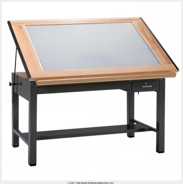 Excellent Drafting Table With Light the best reference