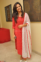 Anusuya in Red at Kalamandir Foundation 7th anniversary Celebrations ~  Actress Galleries 006.JPG