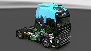 Minecraft Skin Pack for All trucks