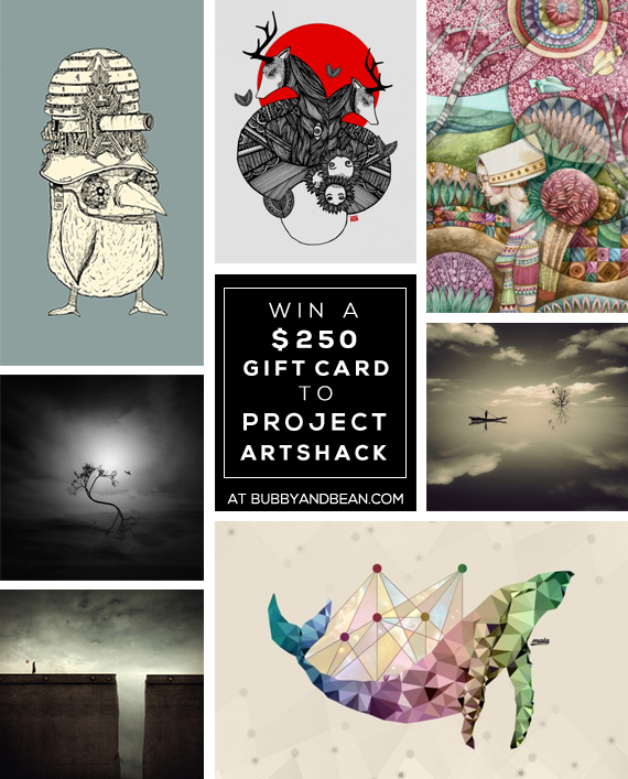 GIVEAWAY //  Win a $250 Gift Card to Project ArtShack from Bubby & Bean!