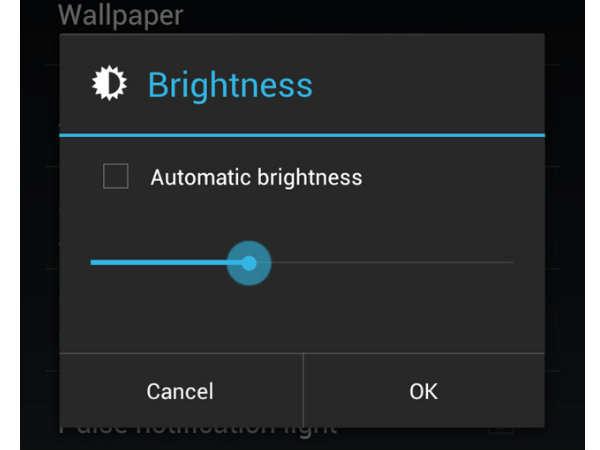 screen brightness image