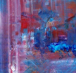 """acrylic painting """"Rise"""" by Claire Bull"""