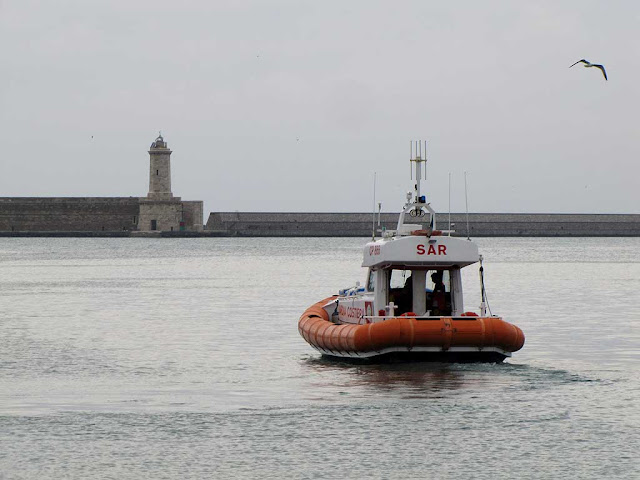 CP 866 motorboat, Coast Guard, Livorno