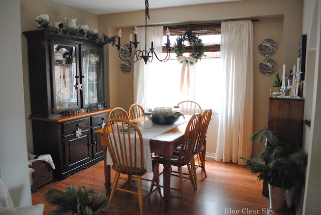 12 Rustic Dining Room Ideas: Rustic Maple: Christmas 2013 Our Rustic Country Dining Room