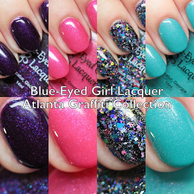Blue-Eyed Girl Lacquer Atlanta Graffiti Collection