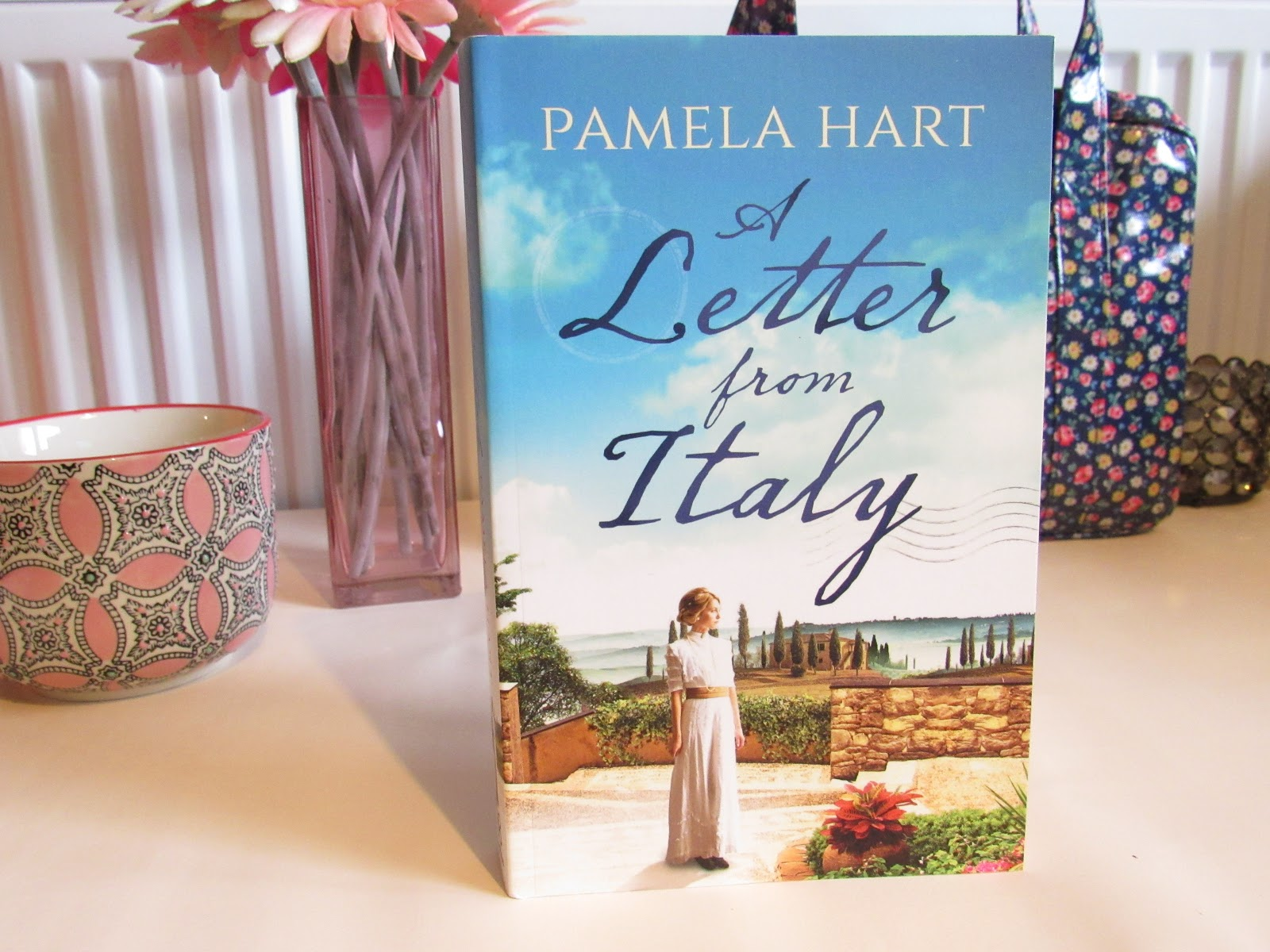 Blooming Fiction, lifestyle blog, A Letter From Italy Book Review