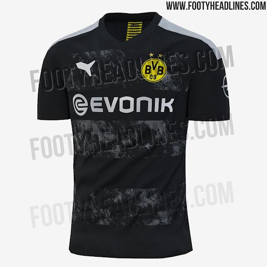 724e1c5aa EXCLUSIVE  Borussia Dortmund 19-20 Away Kit Leaked - Footy ...