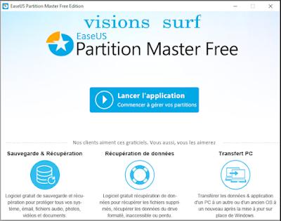 EaseUS Partition Master Free pour Convertir des disque dure MBR en GPT