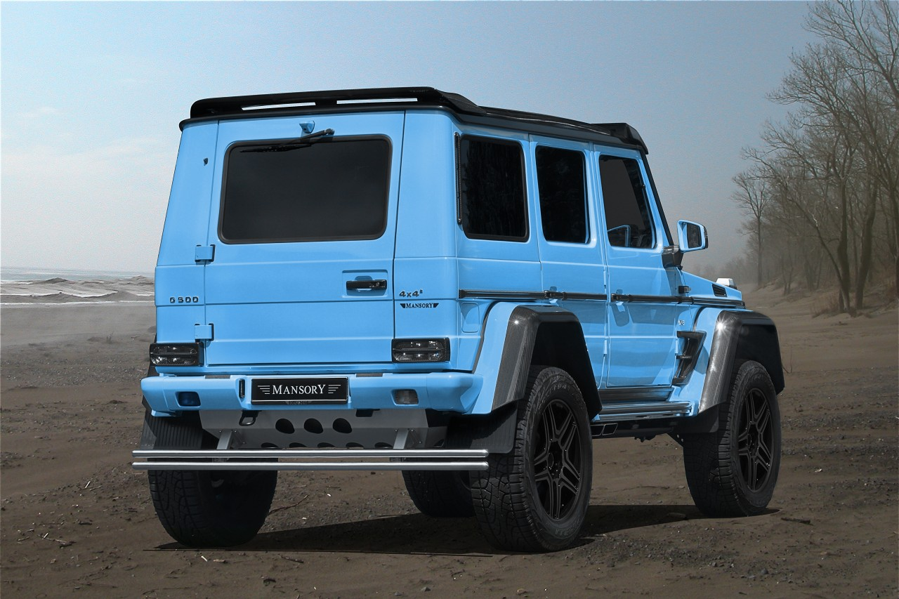 baby blue mercedes benz 4x4 mansory benztuning. Black Bedroom Furniture Sets. Home Design Ideas