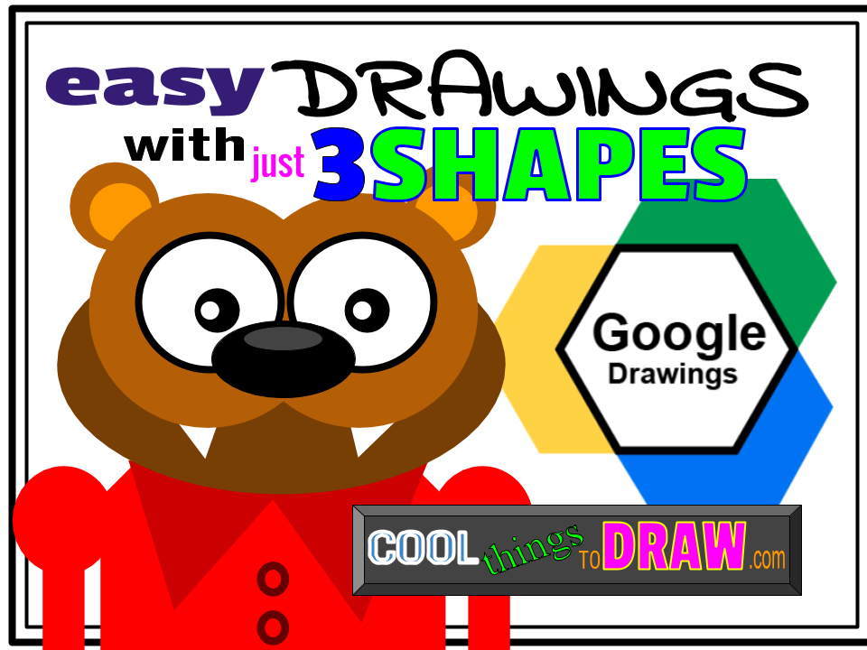 Drawing Ideas For Kids Drawing Ideas With Google Drawings Cool