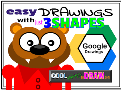 Drawing Ideas With Google Drawings: Cool Things to Draw with Google Drawings